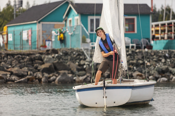 Young Sailor on Bellingham Bay